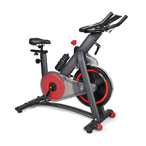 Bici da Spinning con volano da 16kg a resistenza magnetica, display LCD, software di monitoraggio e supporto tablet (EDGE 1600)
