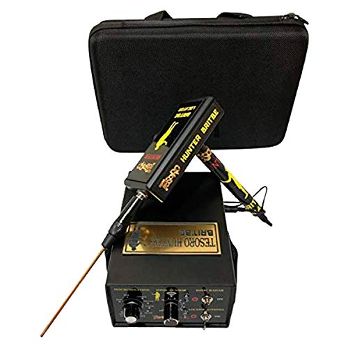 Britbe Tesoro Hunter Long Range Metal Detector - Ionic System Detection- Professional Metal Detection for Gold and Silver