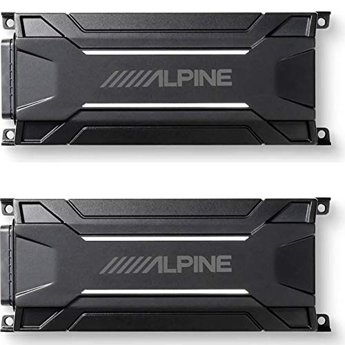 Review Of Alpine KTA-30FW 4-Channel Power Tough Power Pack Amplifier Bundled W/Alpine KTA-30MW Mono ...
