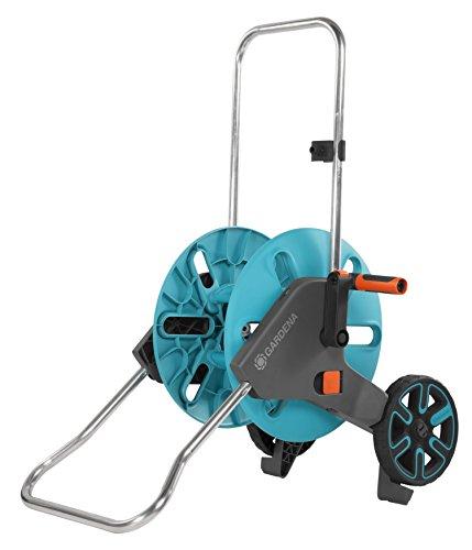 GARDENA dévidoir Aquaroll M: dévidoir sur roues d'une capacité de 60m, particulièrement...