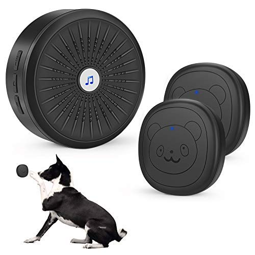 Kissin Dog Door Bell with Wireless Touch