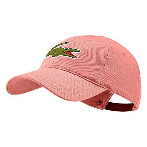 Lacoste Herren RK4711 Baseball Cap, Männer Schirmmütze,Baseball Mütze,Kappe,ELF PINK(5MM),One Size (TU)