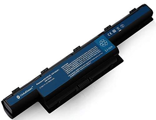 Globalsmart Batería para portátil Alta Capacidad para Acer TravelMate 5742 9 Celdas Negro