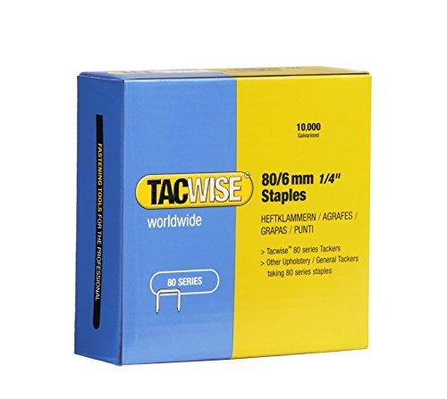 Tacwise 0381 Zincati nietjes, 80/6 mm