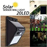 ASGTRADE India Solar Powered Cordless Outdoor Led Motion Sensor Path and Security Light