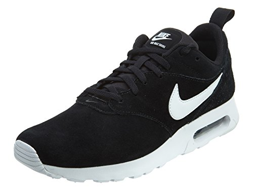 Nike Air Max Tavas Leather, Chaussures Multisport Outdoor Homme, Noir (001 Black), 39 EU