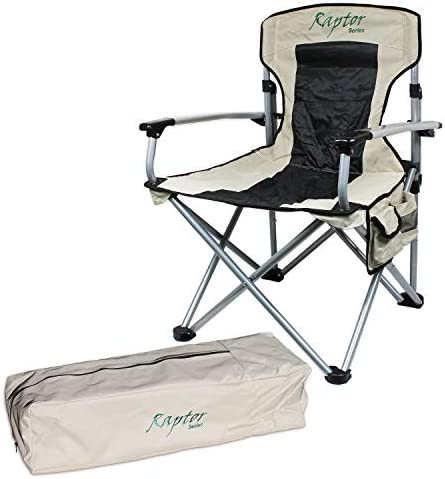 Raptor Series Offgrid Oversized Camping Folding Chair Heavy Duty Support Aluminum Frame Collapsible product image