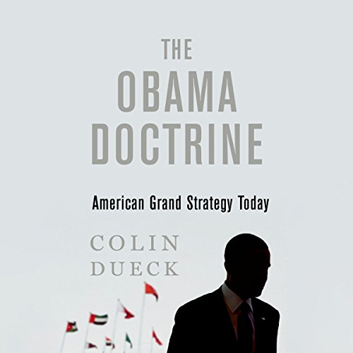 The Obama Doctrine audiobook cover art