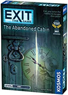 Thames & Kosmos 692681 Exit The Game The Abandoned Cabin Stratergy Game