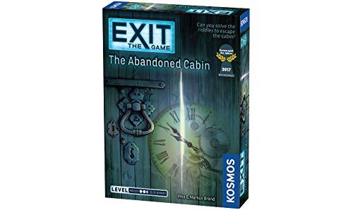 """Kosmos Thames & Kosmos 692681 Spiel EXiT: The Abandoned Cabin (""""Die verlassene Hütte, englische Ausgabe) Zubehör"""