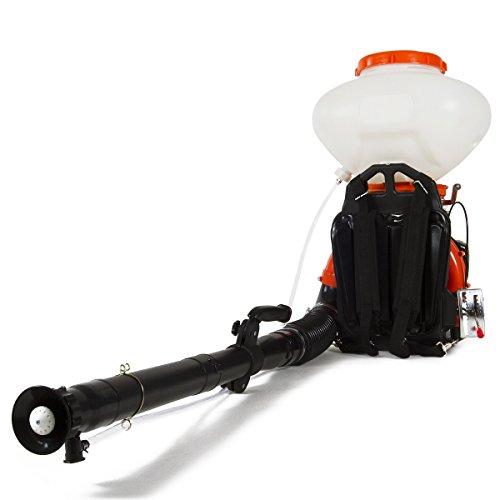 Greencut EBW700 Kit Sulfatador Fumigador Mochila Liquido-Polvo y Soplador, 2130 W, Naranja, 26 L, 42 cc