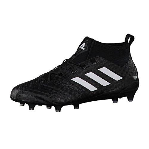 adidas Herren Ace 17.1 Primeknit FG Futsalschuhe, Schwarz (Cblack/ftwwht/ngtmet), 40 2/3 EU