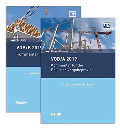 VOB/A + VOB/B 2019: Kommentare für die Bau- und Vergabepraxis Paket (Beuth Recht)