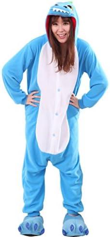 Blue dinosaur onesie