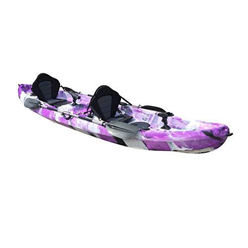 Cambridge Kayaks ES, Sun Fish TÁNDEM SÓLO 2 + 1,PURPÚREO, RIGIDO