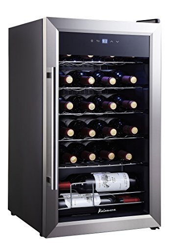 Kalamera 24 bottle Single Zone Wine Cooler Small wine fridge