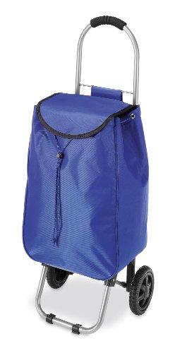 Whitmor Rolling Utility Bag Cart, Blue