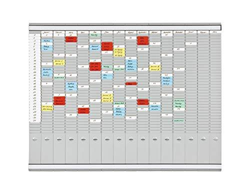 Franken PV1015 T-Kartentafel, Office Planer, 100,8 x 78,3 cm, 35 Schlitze