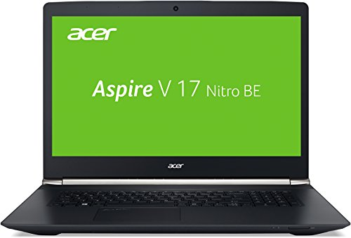 Acer Aspire V 17 Nitro Black Edition VN7-792G-73X4 43,9 cm (17,3 Zoll Full-HD IPS matt) Gaming Laptop (Intel Core i7-6700HQ, 8GB RAM, 1.000GB HDD, GeForce GTX 960M, Win 10) schwarz