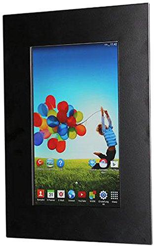TabLines TWE003B Tablet Wandeinbau Samsung Galaxy Tab 3 10.1, diebstahlsicher, schwarz