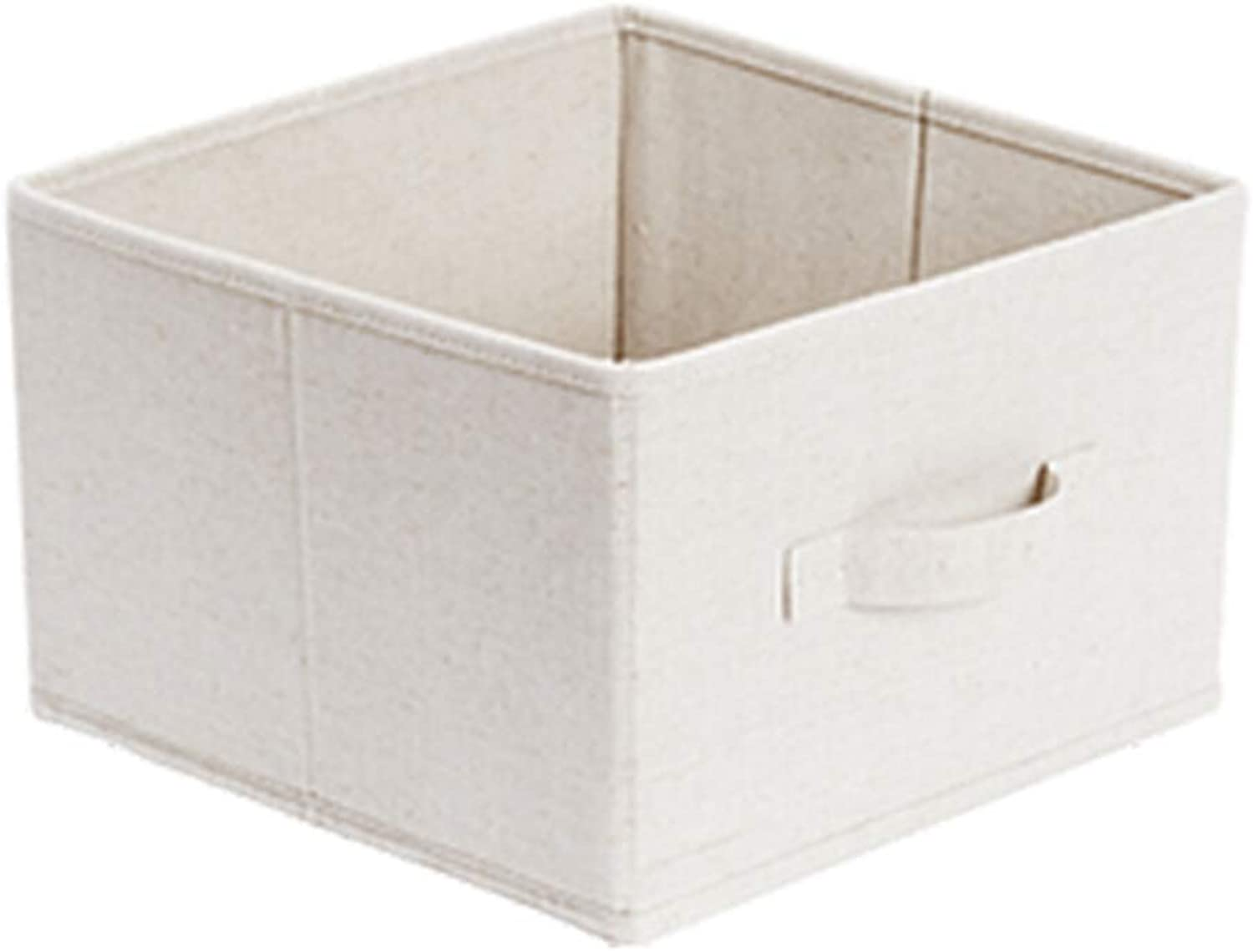 Storage Box Storage Bins Baskets Toy Box Home Containers Cubes Bin Box Gift Baskets Storage Ches-Detachable Folding Storage Box JINRONG (color   White Without Cover, Size   29  29  19)