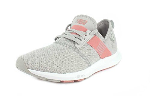 New Balance Women's FuelCore Nergize V1 Sneaker, Silver Mink/Dusted Peach, 9 B US