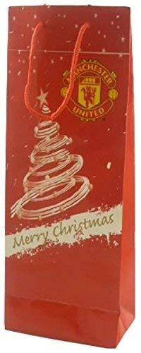 Balloonshop Sacchetto Portadocumenti Manchester United Christmas Bag 36cm (H) x 13.5 (W)