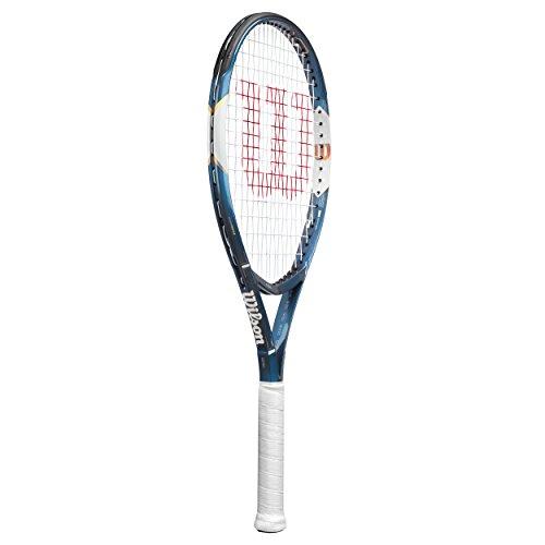 Wilson Ultra XP 110 Raqueta de Tenis, Unisex Adulto, Azul/Blanco / Dorado