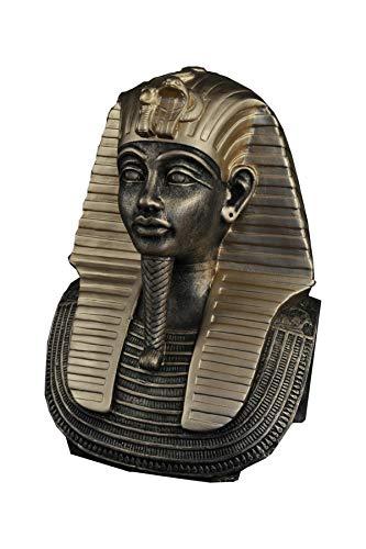 Antikes Wohndesign Ägyptische Figur Tutanchamun Pharao Statue Dekofigur Büste