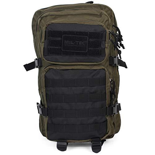 Mil-Tec US Assault Mochila Grande Ranger Green/Negro