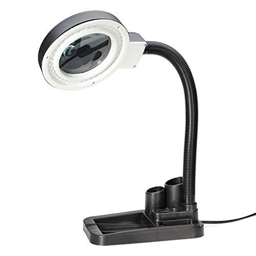 Led-bureau-lens, 5 x 10 x, met licht, voor het lezen en repareren van sieraden