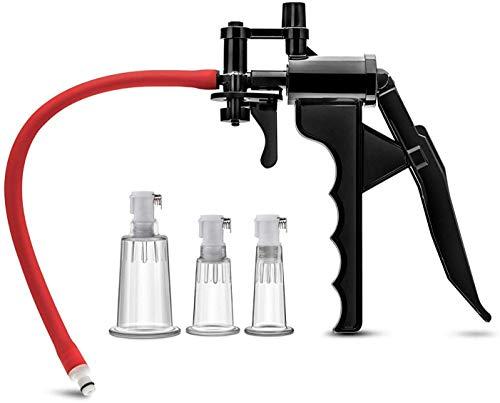 CRYPJJJ Frauen Nippel Pumpe Luft Vergrößerer Enhancer effektive Massage Werkzeugverlängerung Pump 100% Geheimnis Verpackung