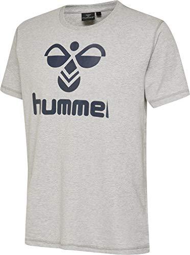 hummel Classic Bee T-Shirt pour garçon 6-8 Ans (116-128 cm) Gris - Gris