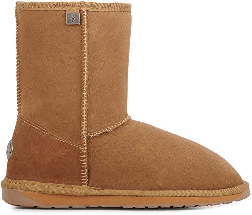 EMU Australia Platinum Stinger Slim Lo Womens Sheepskin Boots Australian Made Size 10 EMU Boots