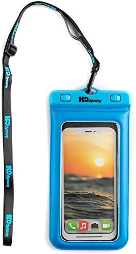 H2O Cell Phone Dry Bag, Blue, 6.5