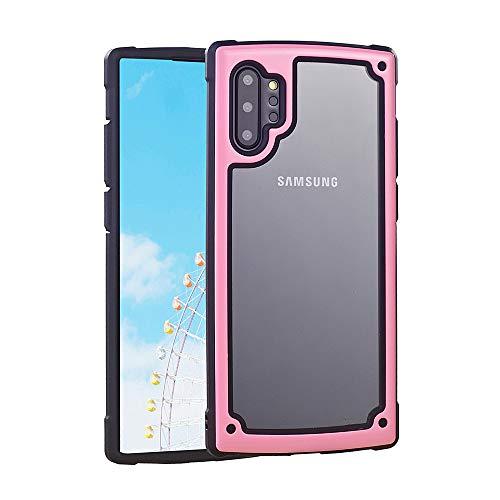 ZHYLIN - Carcasa para Samsung S8 S9 S10 Plus, resistente a los golpes, funda para teléfono móvil Samsung Note8 Note9 Note10 Plus, color caramelo, silicona, rosa, Samsung S8plus