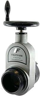 Dixon AHGV250F-I Red Aluminum 2 1//2 Fire Hydrant Gate Valve Equiv