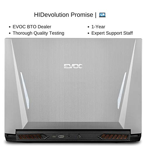"EVOC NH584 (NH58AF1) 15.6"" FHD 144Hz, 2.6 GHz Ryzen 9 3950X, RTX 2070, 16 GB 3200MHz RAM, 512 GB PCIe SSD"