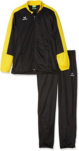 Erima Kinder Toronto 2.0 Polyesteranzug, schwarz/Gelb, 116