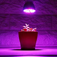 2 Pcs 28W Grow Light Full Spectrum E27 Led Grow Light Growing Lamp Bulb Plant Lamp For Plants Vegs Hydroponic System Plant Light