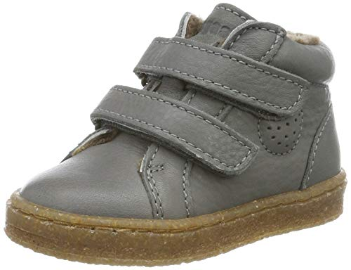 Bisgaard Jungen Unisex Kinder Sinus Sneaker, Grau (Grey 400), 24 EU