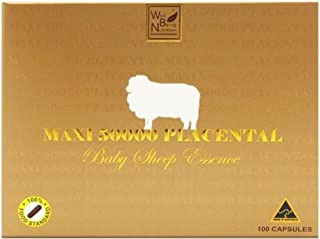 Wealthy Health Maxi 50000 mg Placental Baby Sheep Essence 100 Capsules