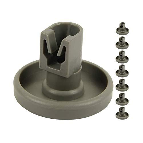 CCDZSW plástico Lavavajillas inferior Bowl y accesorios de rodillo de cesta roscados inserción