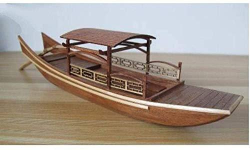 YLJYJ Modèle de bateau salon decorations voilier modèle classique en bois bateau à voile bateau en bois bateau Kit pour cadeau pour la decor