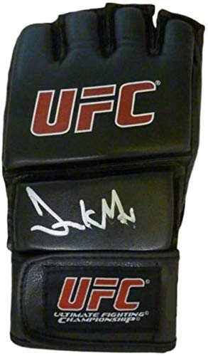Frank Mir signed UFC Ultimate Fighting Championship / MMA Bellator Fight Glove (Left)- AWM Hologram - Autographed UFC Gloves