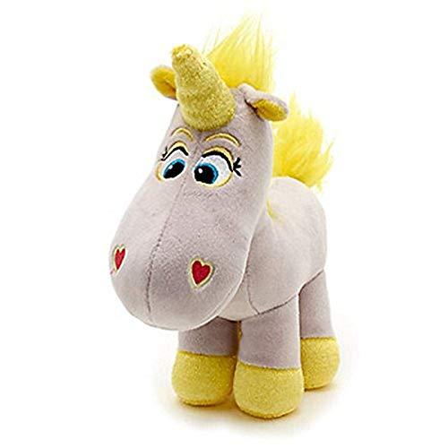 tianluo Peluches Simpatico Giocattolo Story Buttercup Unicorn Peluche 22cm Unicornio Cavallo Bianco Farcito Animali Ragazze Giocattoli per Bambini Regali per Bambini