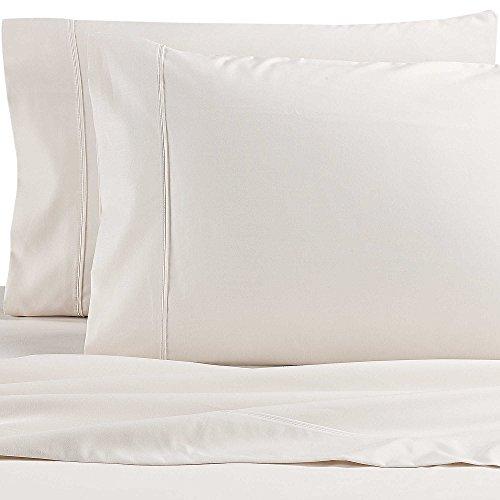 Wamsutta Dream Zone PimaCott - Juego de sábanas tamaño King (1000 hilos), color marfil