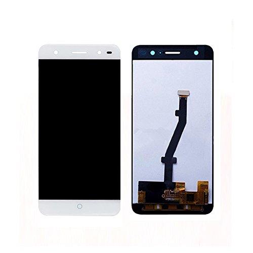 JayTong - visualización LCD y digitalizador de visualización táctil de Repuesto para ZTE Blade V7 Lite BV0720 / V6 Plus Blanco