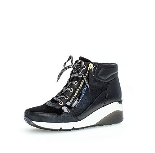 Comfort Basic Damen 56.415.57 Stiefelette, schwarz (Gold/Mic), 40 EU