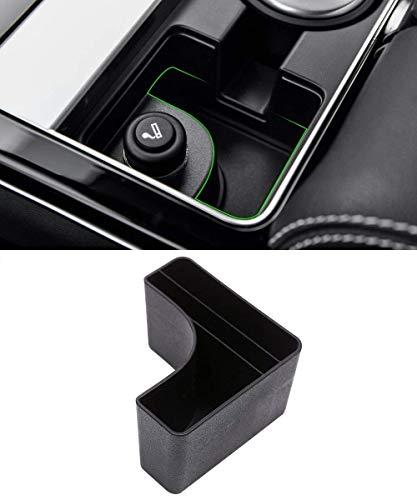 Auto-broy Plastique Central Console Boîte de Rangement Porte-gobelet Accessoire pour Vélaire 2017